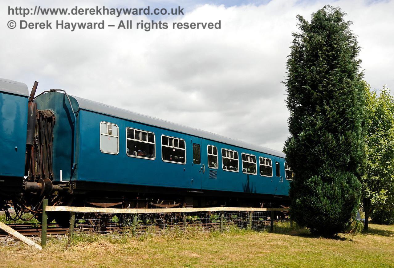 DMU coach 101660. Shepherdswell Station, East Kent Railway. 17.06.2015  12754