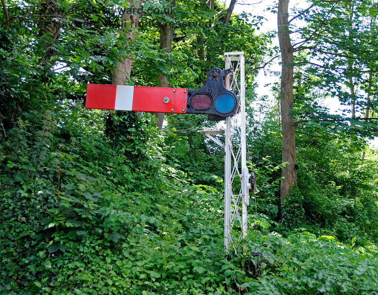 Shepherdswell Station, East Kent Railway.  17.06.2015  12722