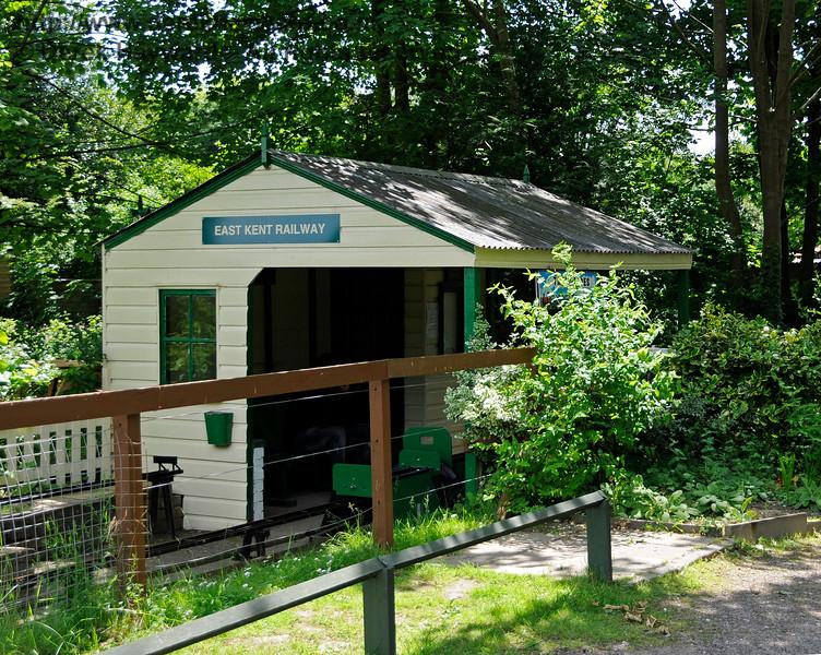 The Miniature Railway, Shepherdswell Station, East Kent Railway.  17.06.2015  12760