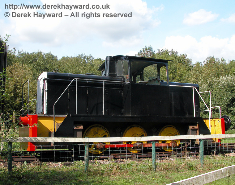 English Electric 0-6-0 Richborough Castle (works number D1197), pictured on 19.09.2006