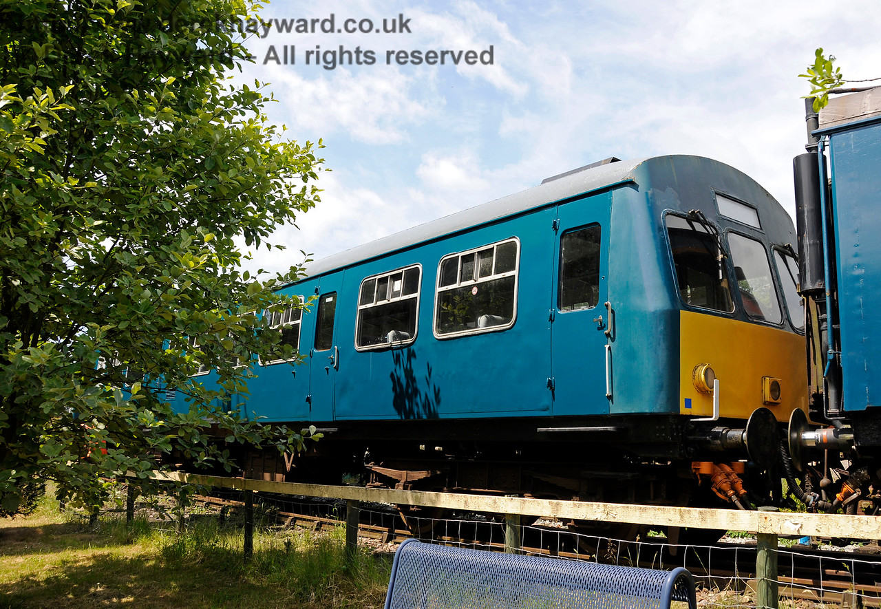 DMU coach 101660.  Shepherdswell Station, East Kent Railway. 17.06.2015  12756