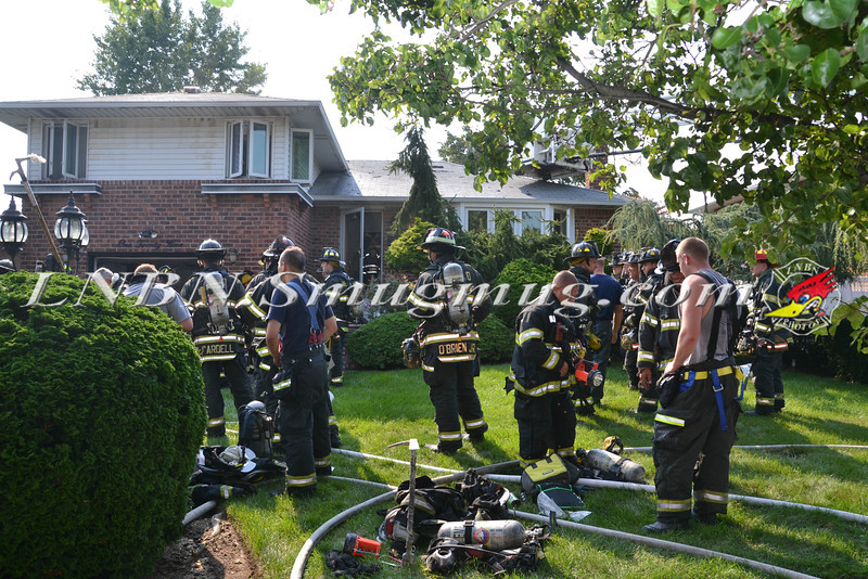 East Meadow F D House Fire 129 BEVERLY PL CS STEPHEN ST 8-21-2013-2-19
