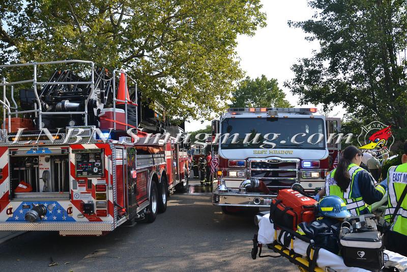 East Meadow F D House Fire 129 BEVERLY PL CS STEPHEN ST 8-21-2013-2-21