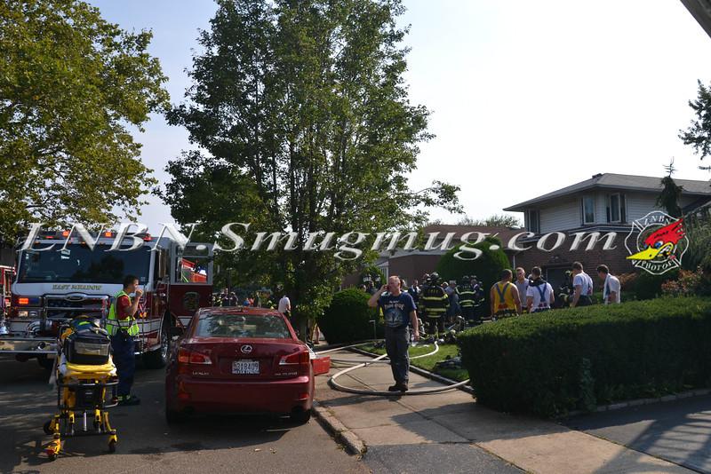 East Meadow F D House Fire 129 BEVERLY PL CS STEPHEN ST 8-21-2013-2-36