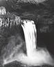 Palouse falls in Winter