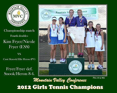 2012 Girls Fourth doubles