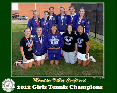 2012 Girls Tennis Champions