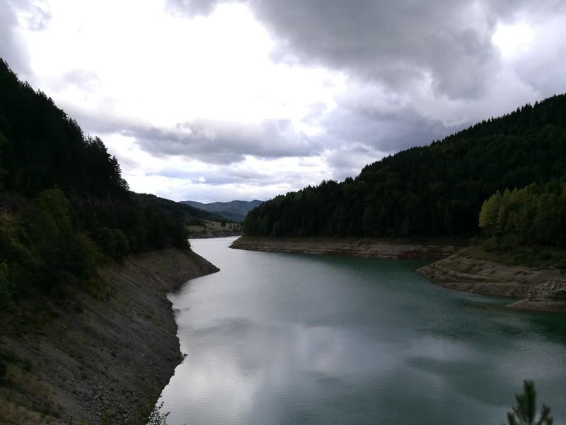 Zaovine lake in Tara NP