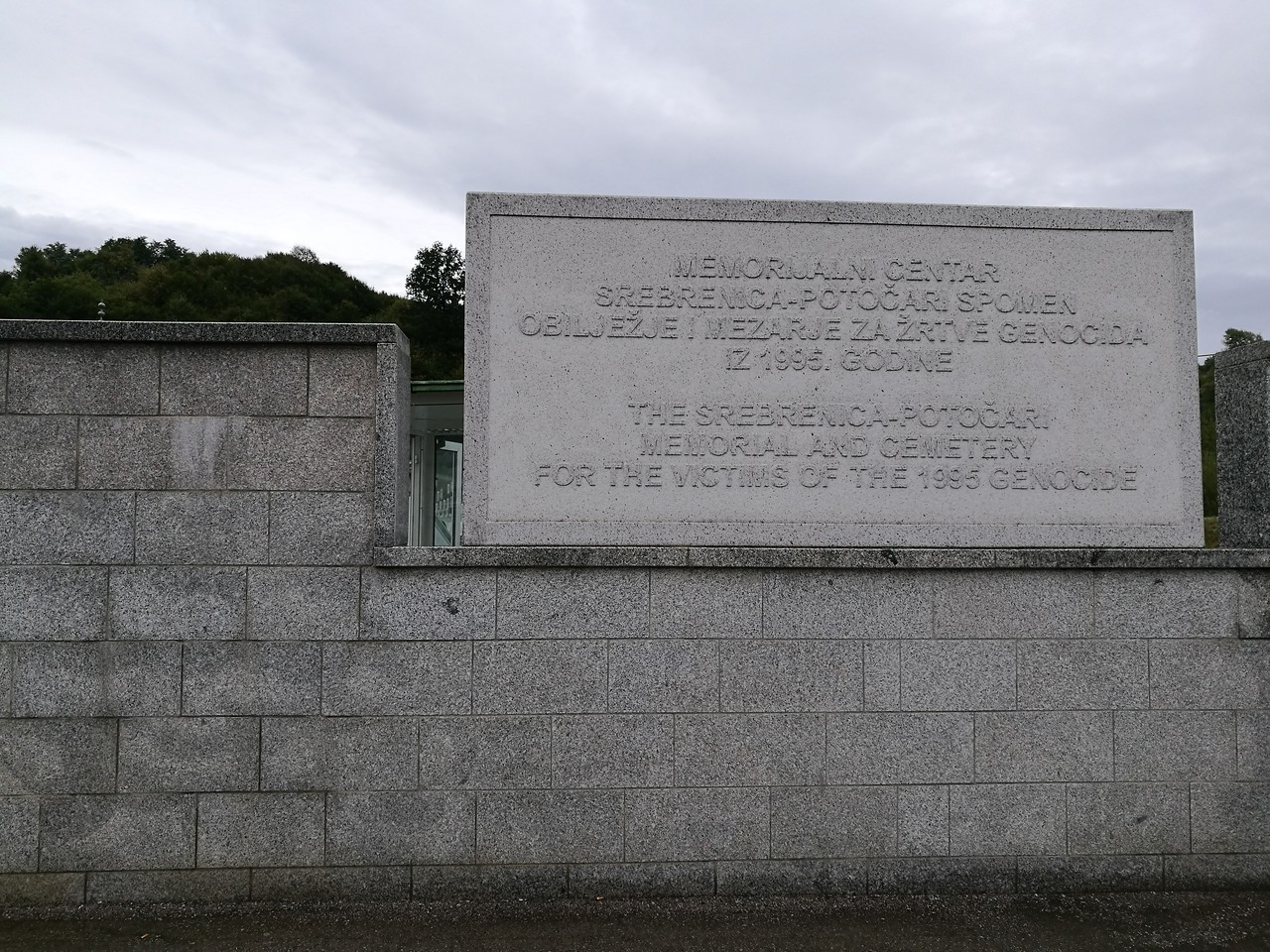 Srebrenica genocide memorial center
