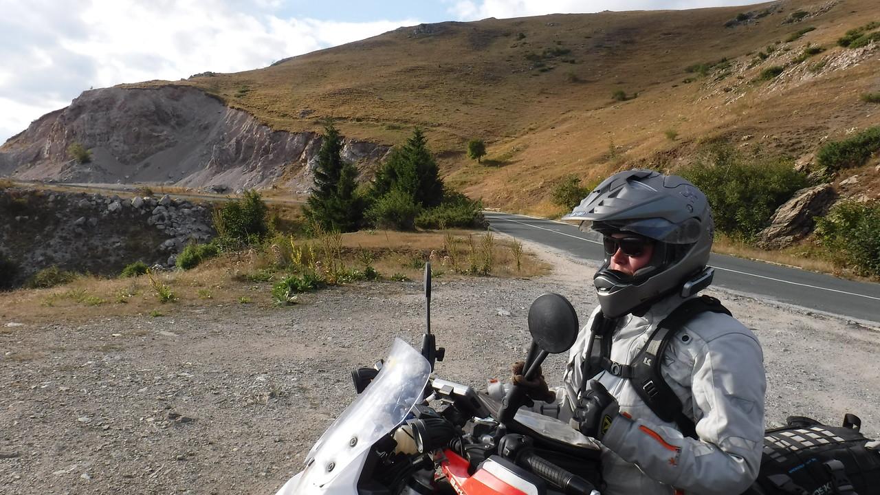Enjoying a break on Troyan Pass