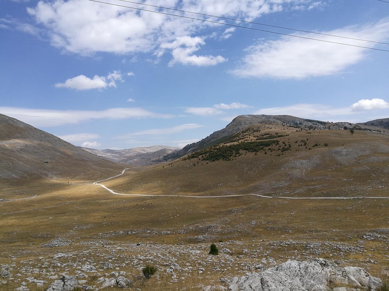 Vistas near mount Igman