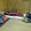 Sleeping in Herbert's dojo