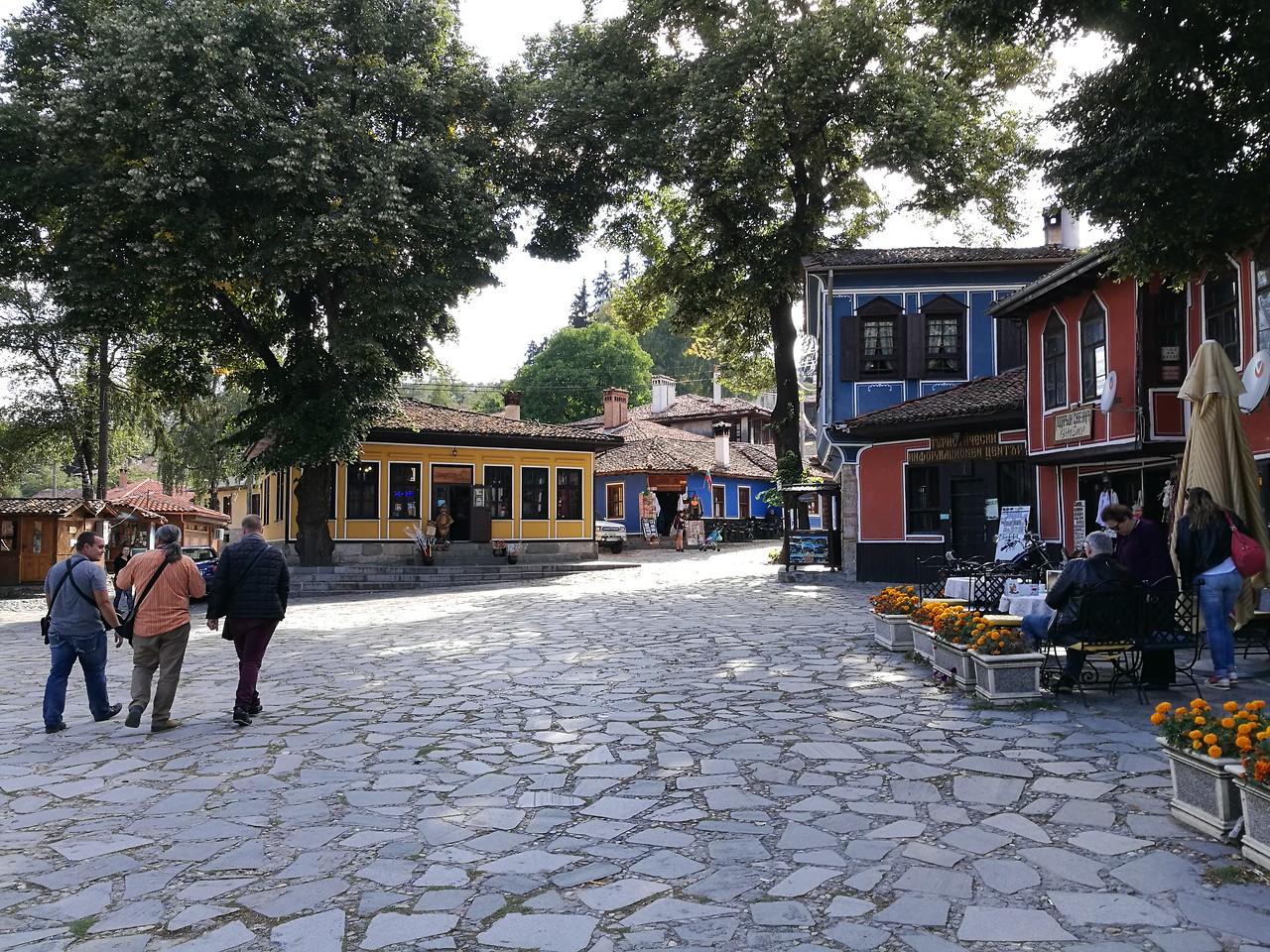 Town square in Koprivshtitsa