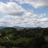 View from the Studenica Monastery
