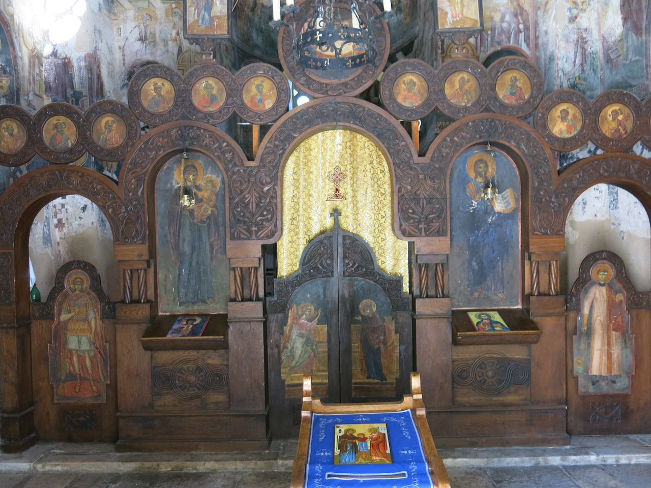 Tabernacle inside the church