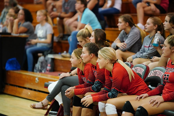 Eastbrook vs Madison Grant Volleyball 8-28-18