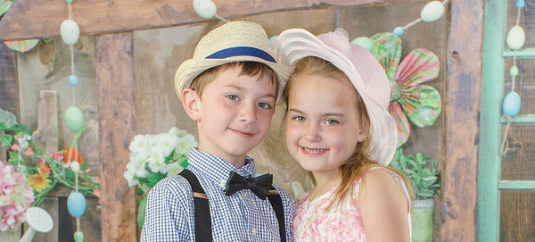 Easter 2017 Bella and Isaac