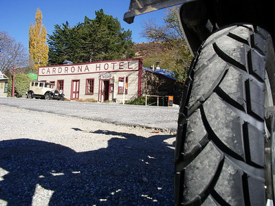 Old Cardrona Pub , new rubber