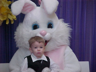 Easter Bunny Pictures- thru the years.