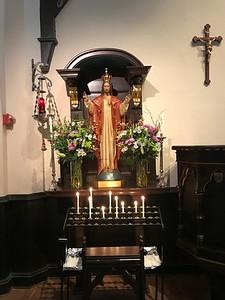 Shrine of the Sacred Heart, Easter Day