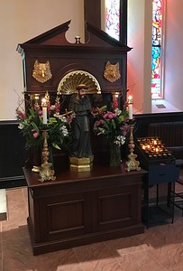 Shrine of St Francis, Easter Day