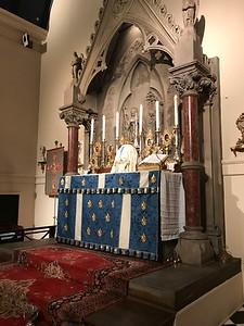 High Altar just before Easter High Mass