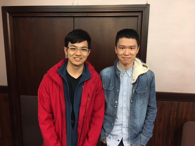 London Easter Festival 2017 - Swiss Pairs B Flight winners: Xiaojia Rao & Tony Ye