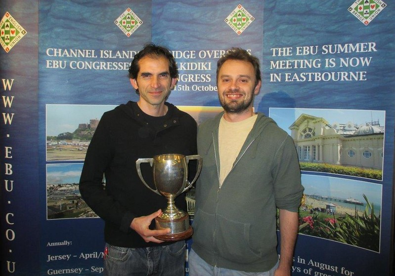 London Easter Festival 2017 - Championship Pairs winners, David Bakhshi &  Ollie Burgess