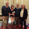 Northern Easter Festival 2017 - Swiss Teams winners - Alan Nelson,  Rhona Goldenfield, Bernard Goldenfield & Kath Nelson