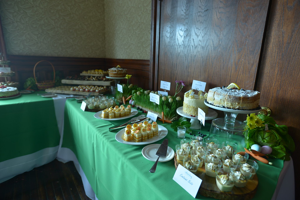 . The Desserts were very ornate. (Daniel Sewell/Trail-Gazette)