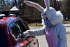 Children from Brattleboro and Bellows Falls gets a little Easter treat on Saturday, April 3, 2021.
