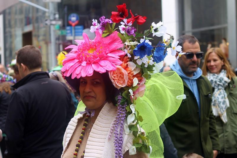 Bonnet Parade, 5th Avenue, Easter 2016