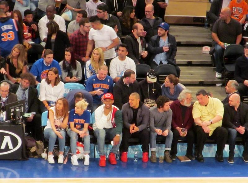 Celebrity Row, Madison Square Garden 3.26.16