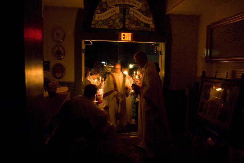 2009 Easter Vigil Mass