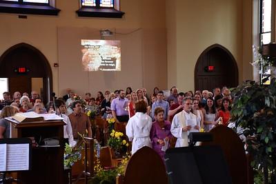 Easter Congregation 6