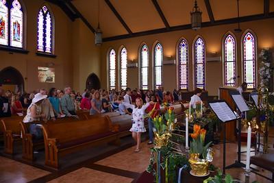 Easter Congregation 5