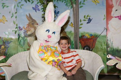 Easter Bunny at Immanuel Lutheran, 2010