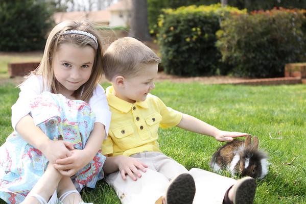 Ethan & Lexi Easter 2013