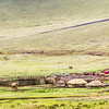 Maasai village with little tourist market, Ngorongoro Conservation Area, Tanzania