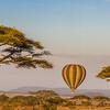 Ballooning over the Serengeti National Park, Tanzania
