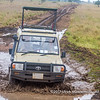 Muddy roads, Serengeti National Park, Tanzania