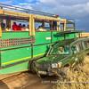 Close passing, Serengeti National Park, Tanzania