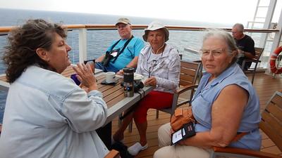 Linda, John, Elsa & Mary