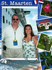 Emily and Dad just off the Caribbean Princess at the port of St. Maarten, Netherland Antilles