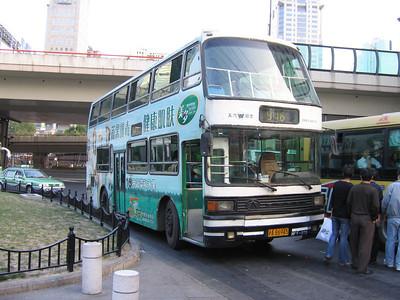Shanghai bus A86945 Remnin Park 1 Oct 04