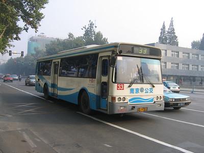Nanjing bus A29341 Oct 04