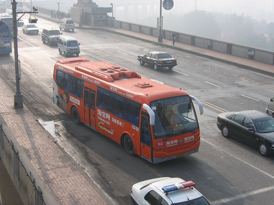 Nanjing bus A42431 Nanjing Bridge Oct 04