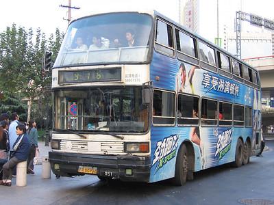 Shanghai bus A68952 Remnin Park Oct 04