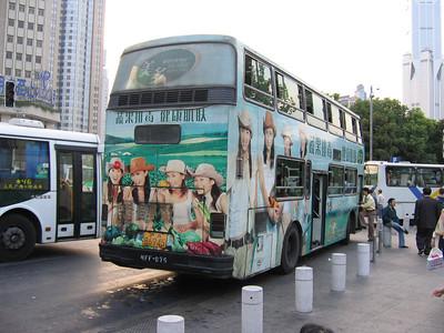 Shanghai bus A86945 Remnin Park 2 Oct 04