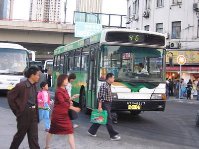 Shanghai bus A87117 Remnin Park Oct 04